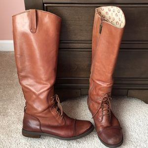 All leather Women's boots